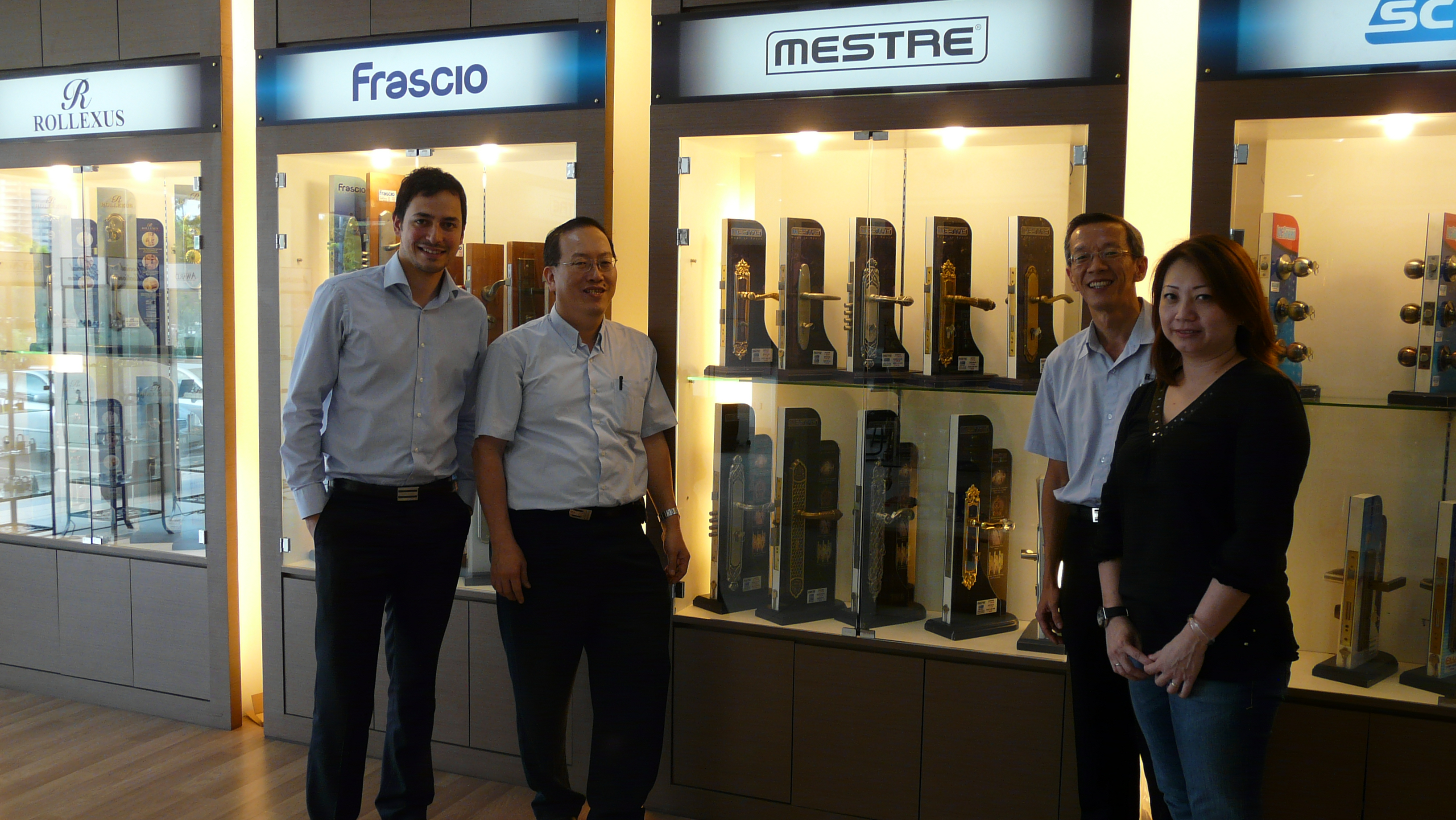 Bronces Mestre In Malaysia Mr Gaetano D Amico With Mr K