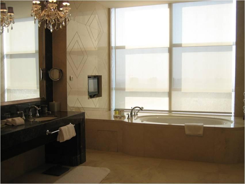agujeros banho