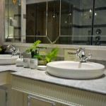 bathrooms fittings with Swarovski crystal by Mestre