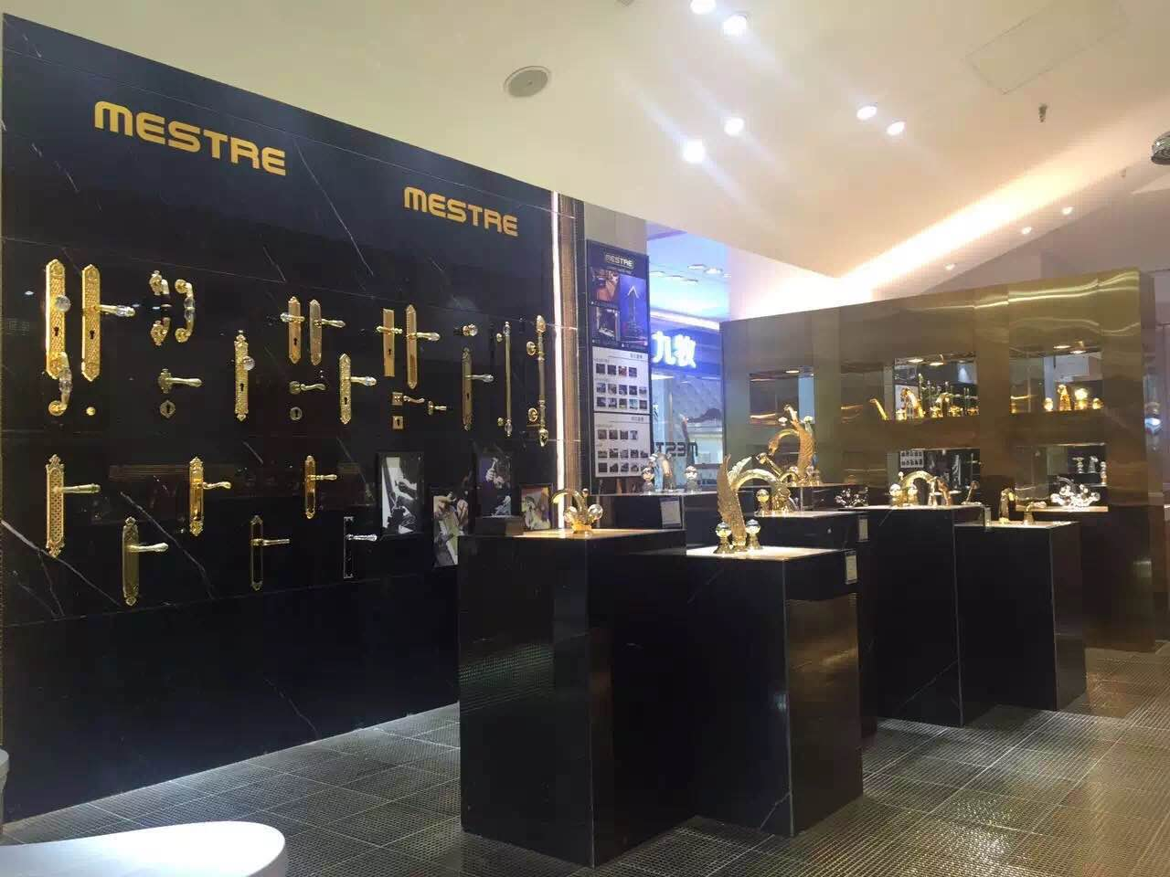 mestre artistic faucets and luxury handles continues the expansion in ...