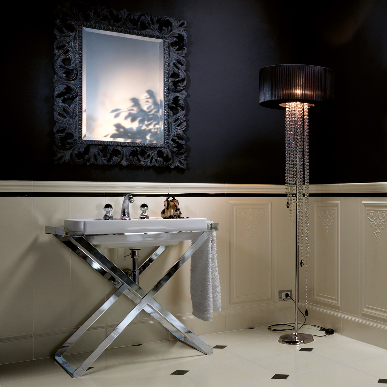 Are you looking for a high quality faucet with crystal? Artica collection ...