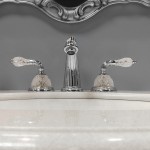 baño de lujo estilo regency