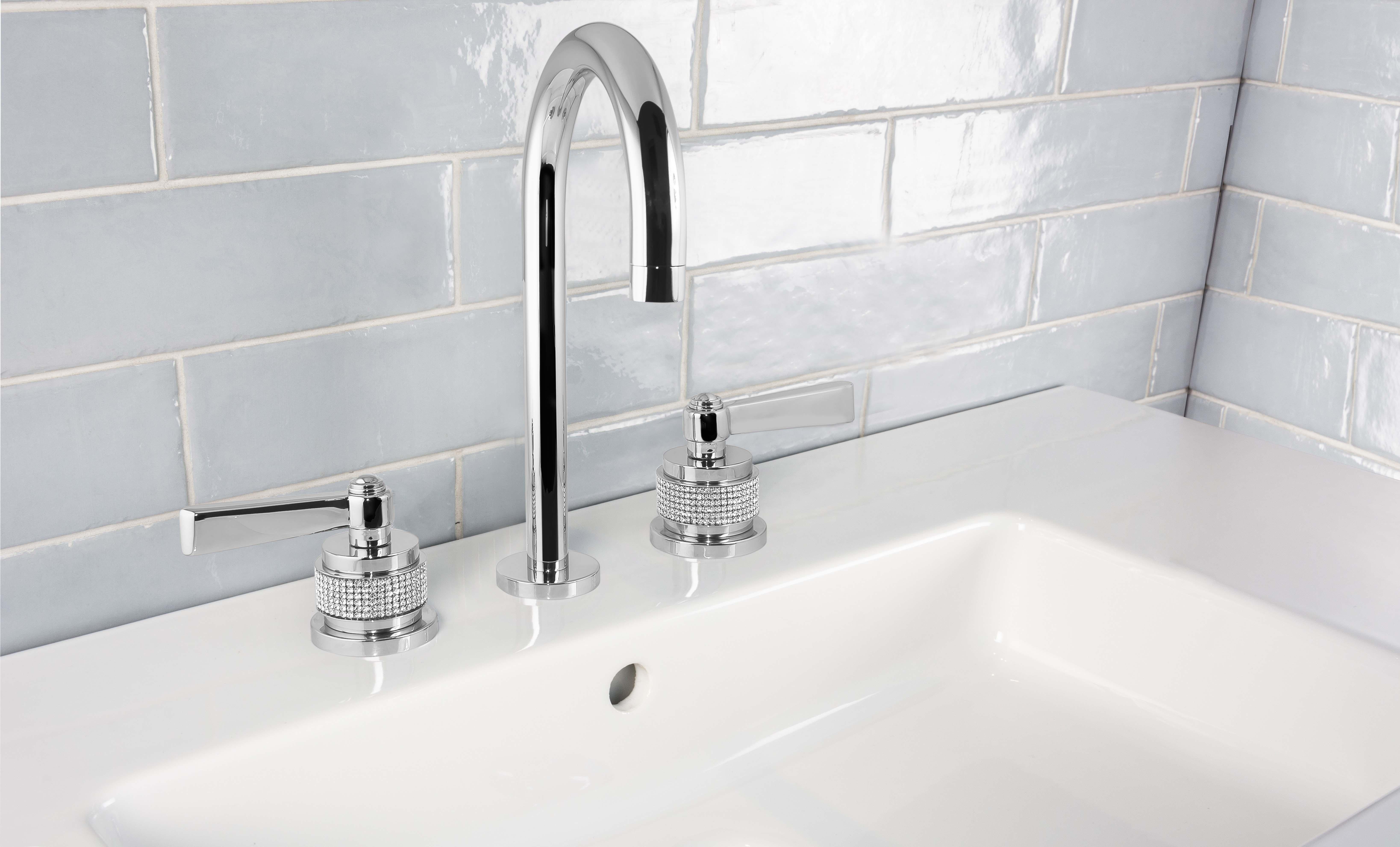 grifo lavabo 3 agujeros de diseño